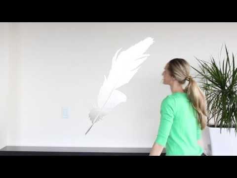 Wall Decal Installation - Hinge Method