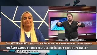 Instituto   Veronica Olmos, medica del plantel y el Covid 19 en El Show En La Red 28 09 2020
