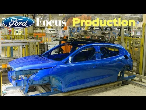 2018 New Ford Focus Production [Car Factory]