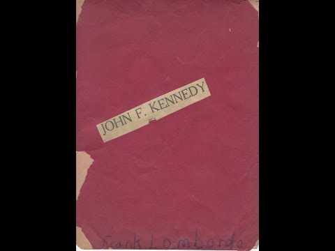 "Newspaper, Construction Paper, & Ribbon: ""John F. Kennedy"", Nov '63"