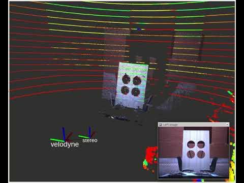 Velo2cam calibration: cloud alignment