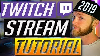 How to Stream on Twitch - Streamlabs OBS Tutorial and Setup