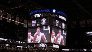 Brooklyn Nets 2016-2017 Intro (vs. Sacramento Kings)