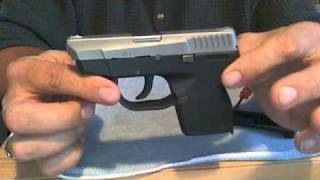 Taurus PT 738 field strip and features!