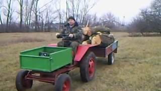 Самодельный Трактор Т16 Мини