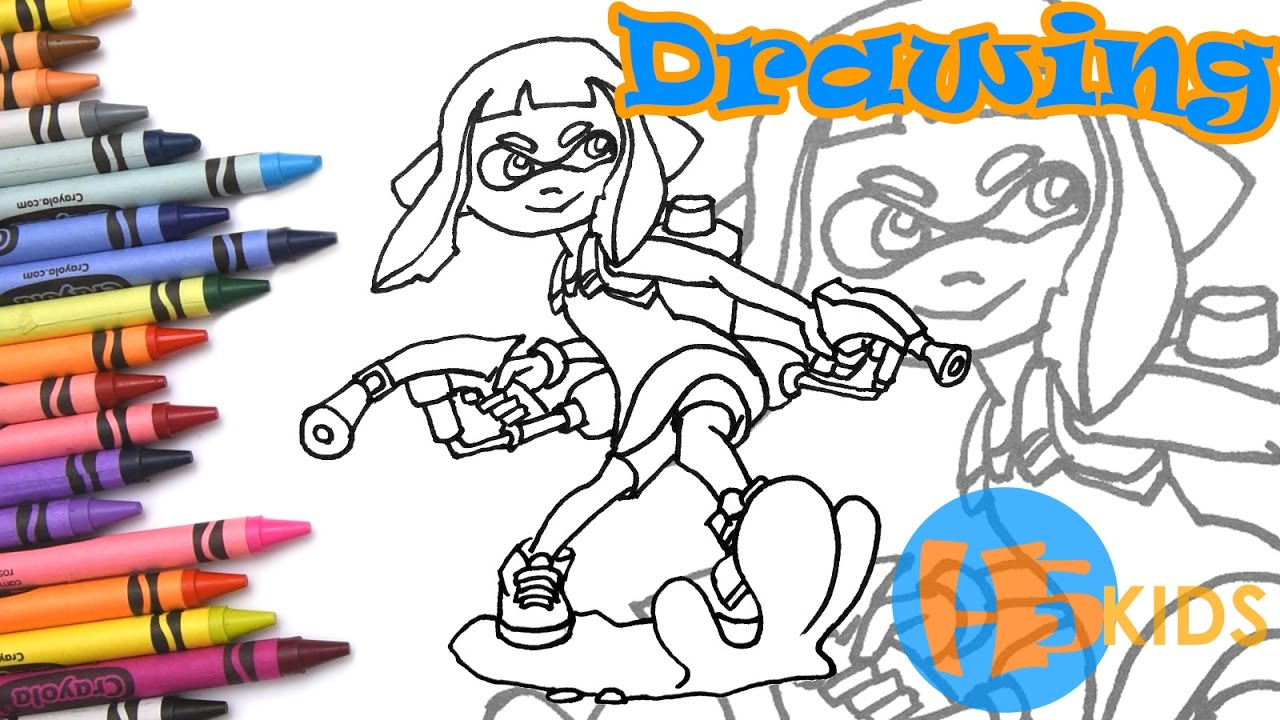 How To Draw An Inkling Girl