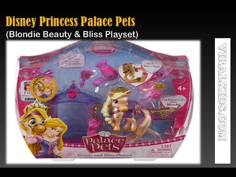 Disney Princess Palace Pets Beauty and Bliss Playset   Rapunzel Pony Blondie