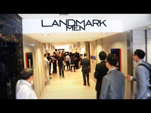 Hongkong Land: LANDMARK Men - Whisky Tour 2014