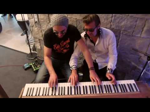 Boogie Woogie Piano & Washboard (4-handed with Alain Boog and Beat Galli on washboard, 2016)