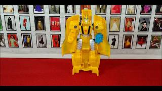 Chuck's Reviews Transformers Cyberverse Action Attackers One Step Bumblebee