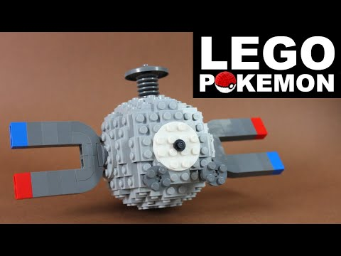 How To Build LEGO Pokémon (Magnemite)