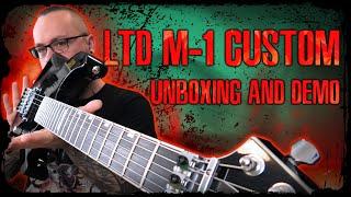 LTD M-1 Custom '87 Series - Unboxing and Demo