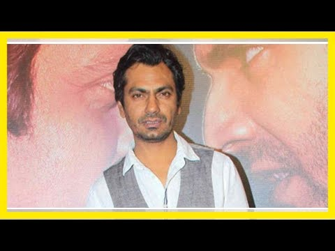 Actor nawazuddin siddiqui to be face of a water conservation campaign   news