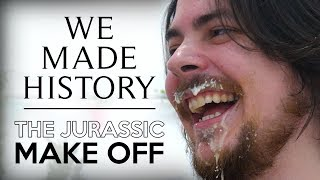 HOW WE MADE HISTORY | The Making Of The Jurassic Make Off