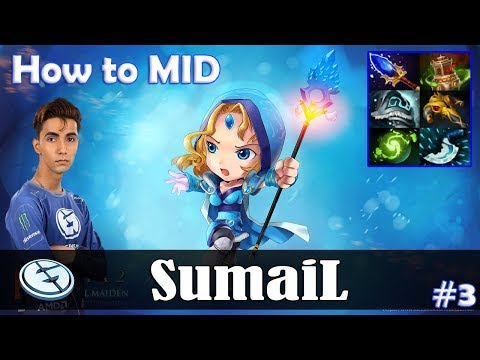 SumaiL - Crystal Maiden How to MID   Dota 2 Pro MMR Gameplay #3 thumbnail