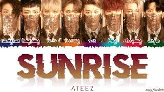ATEEZ (에이티즈) - 'SUNRISE' Lyrics [Color Coded_Han_Rom_Eng]