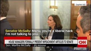 Sen. McSally Calls Reporter 'Liberal Hack' | The View