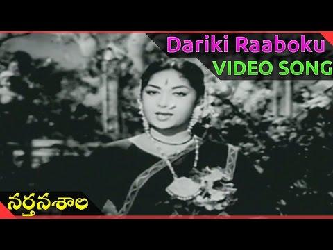 Nartanasala Telugu Movie || Dariki Raaboku video Song || NTR, Savitri