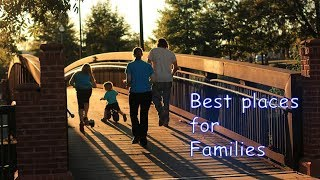 Top 10 best places to raise a family in the United States.