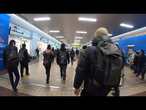 ⁴ᴷ⁶⁰ Walking NYC (Narrated) : Port Authority Bus Terminal - Busiest in the World (November 8, 2019)
