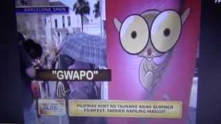 "The Philippines and Tarsier ""Gwapo"" at the Asian Summer Film Festival in Spain"