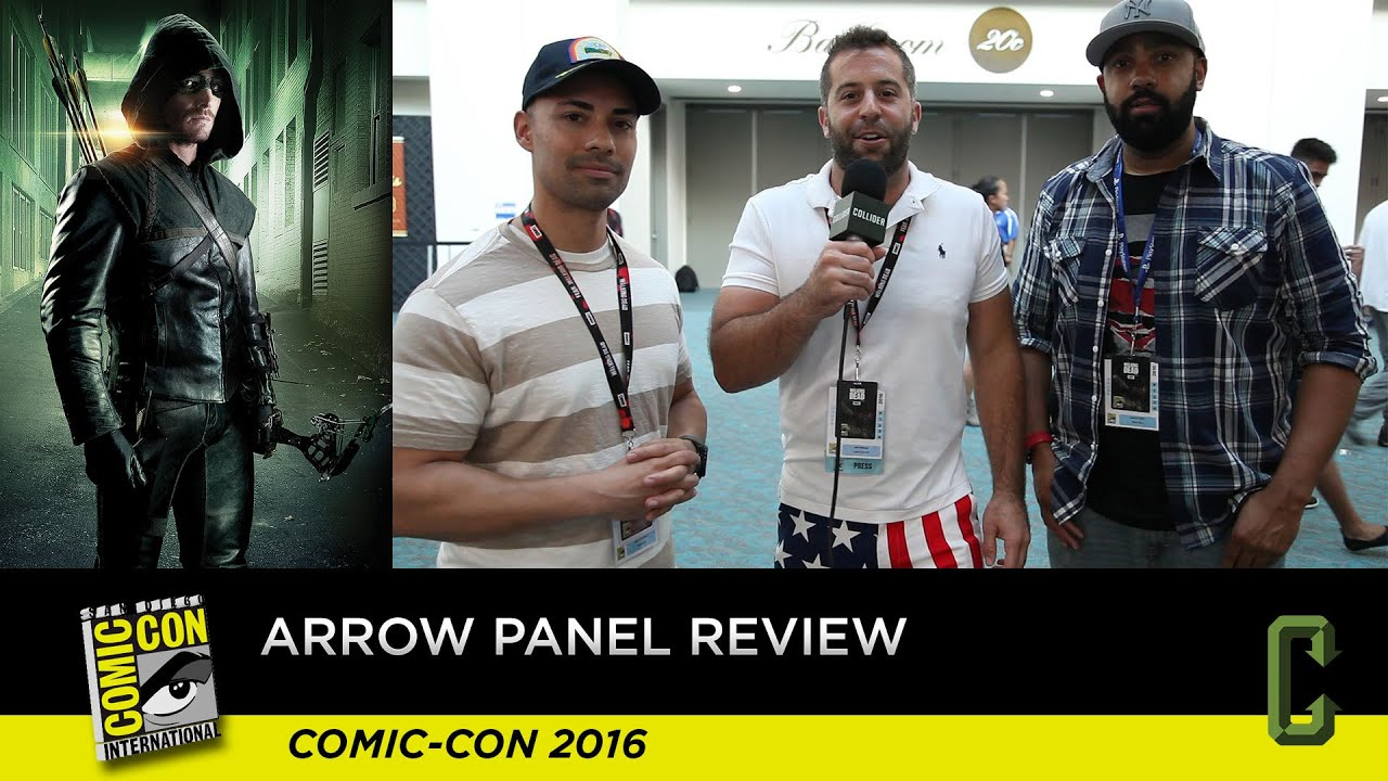 Download Arrow Panel and Footage Review - San Diego Comic-Con 2016