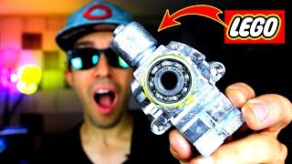 DIY Fidget Spinner GIANT LEGO GALLIUM!