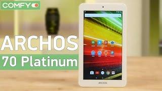 Archos 70 Platinum - бюджетный планшет с металлическим корпусом - Видео демонстрация(Archos 70 Platinum - бюджетный планшет, работающий под руководством ОС Android Lollipop. Узнайте цену, характеристики и..., 2016-07-22T07:35:18.000Z)