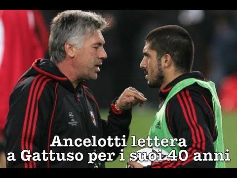 Ancelotti lettera a Gattuso