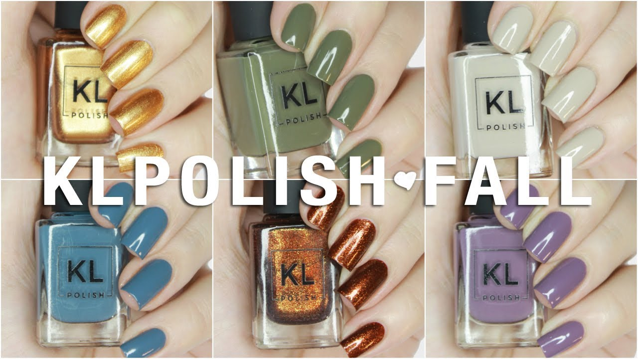 NEW KL Polish 70s Vibes Fall 2017 Collection Swatches + Review AND ...