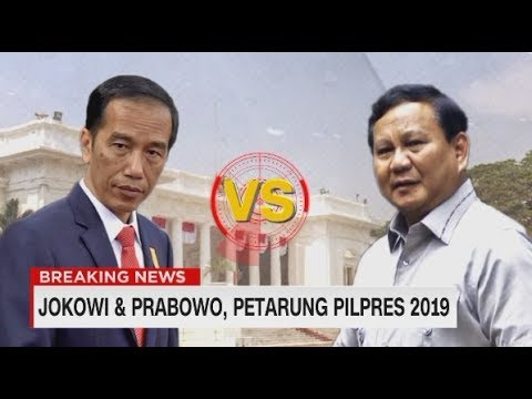 FULL - Prabowo - Sandi, Jokowi - Ma'ruf Amin Daftar Pilpres 2019 #JokowiMaruf #PrabowoSandi