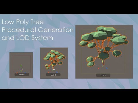 1 : Low Poly Tree - Procedural Generation in Blender