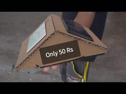 How To Make Solar Light With Best Ideas. Motion Sensor.