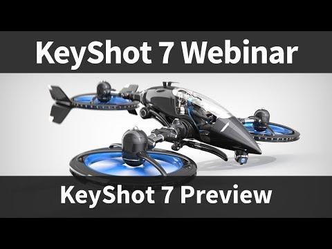 Webinar 62: KeyShot 7 Preview