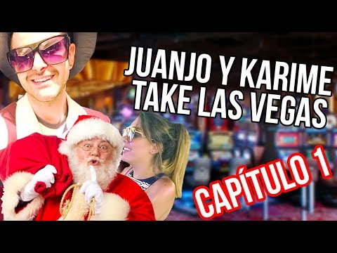 Juanjo  y Karime Take Las Vegas ft Santa Claus