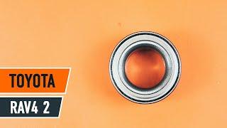 Nézzen meg egy videó útmutatók a TOYOTA RAV 4 II (CLA2_, XA2_, ZCA2_, ACA2_) Főfényszóró csere