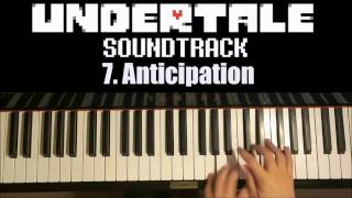 Undertale OST - 7. Anticipation (Piano Cover by Amosdoll)