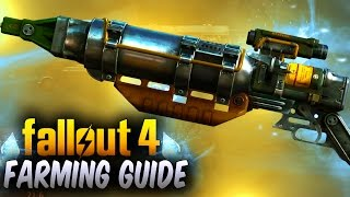 Fallout 4 Rare Weapons - BEST Legendary Weapons & Armor Farm - Training Yard ! (Rare Weapons)