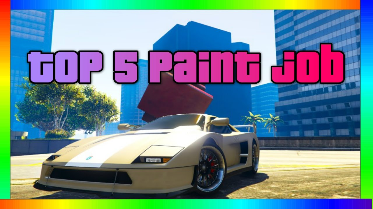 GTA 5 - TOP 5 AWESOME PAINT JOBS FOR THE TURISMO CLASSIC ...