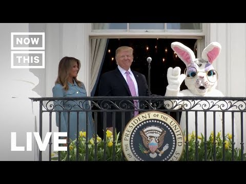 Trump and Melania Host White House Easter Egg Roll 2019 —LIVE STREAM | NowThis
