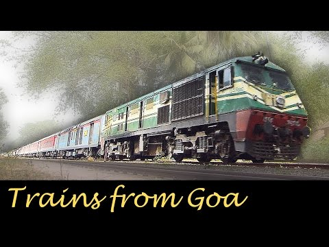 Trains from GOA  : Indian Railways Diesel Heaven