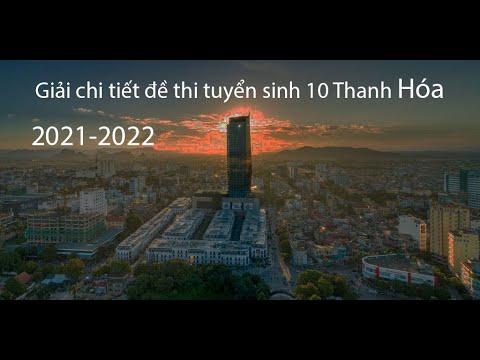 Giải chi tiết đề thi Toán 10 Thanh Hóa 2021-2022