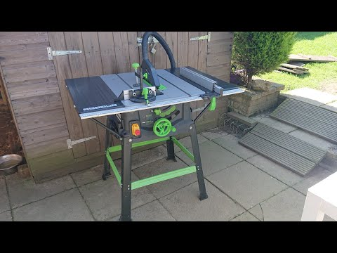 Evolution Fury 5-s Table saw review - one year of ownership ~ #013