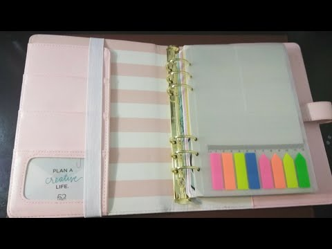 The Paper Studio: Agenda 52 A5 Planner / Set-up & Flipthrough
