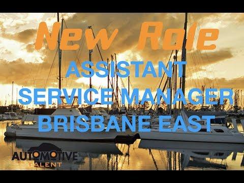 ASSISTANT SERVICE MANAGER - BRISBANE EAST
