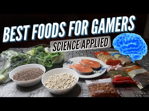 🍓 Best Foods for Gaming | eSports Diet - Science Applied