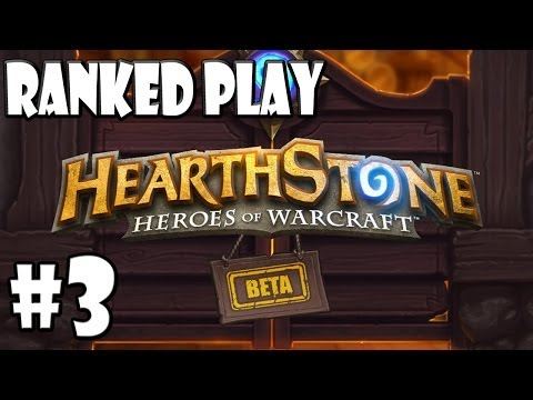 Mitch Plays Hearthstone - Climbing Up The Ranked Ladder - Part 3