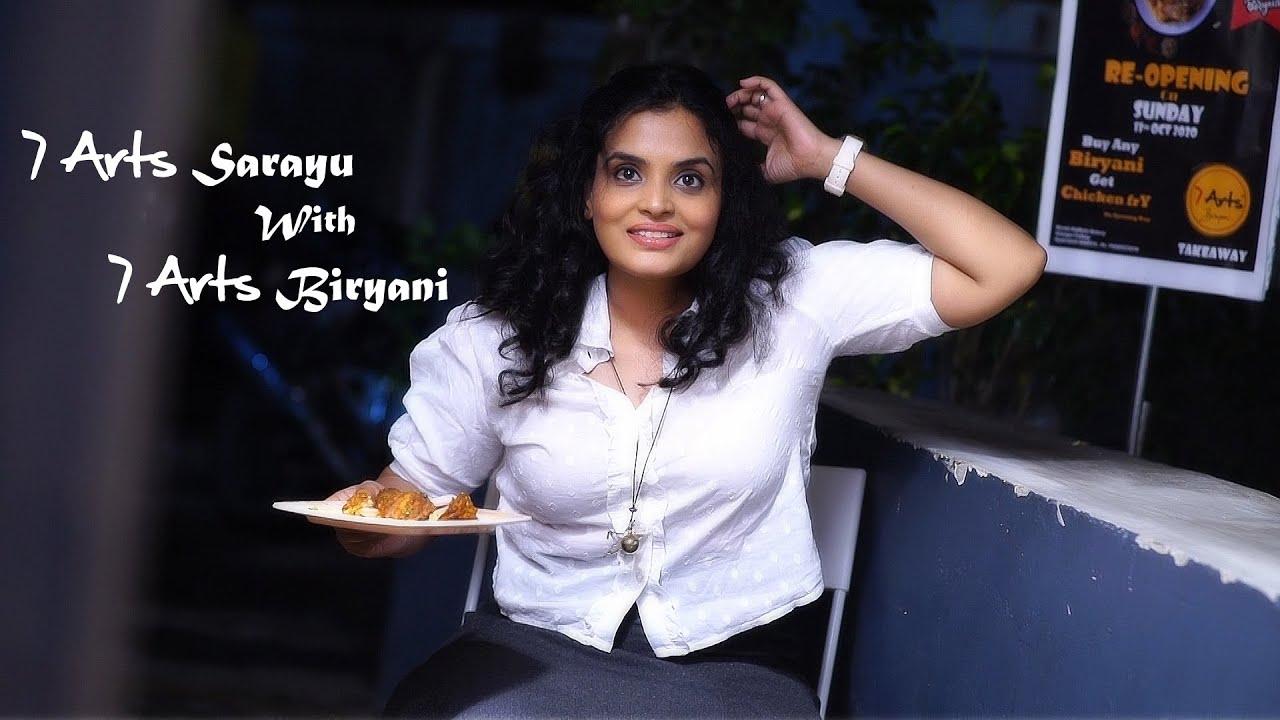 7 Arts Sarayu with 7 Arts Biryani | 7 Arts | By SRikanth Reddy