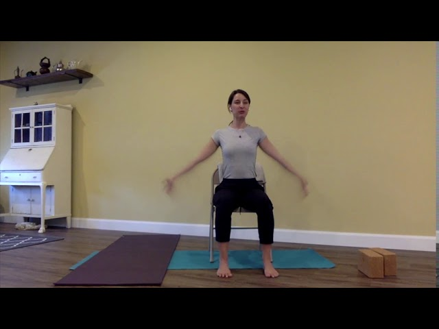 Chair Yoga: A little bit of everything (50 minutes)