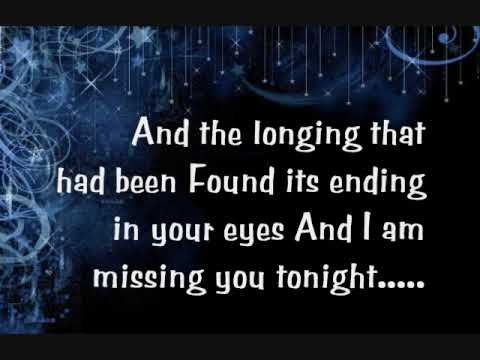 Michael W Smith- IN MY Arms Again with lyrics on screen